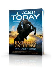 The March/April 2018 issue of Beyond Today.