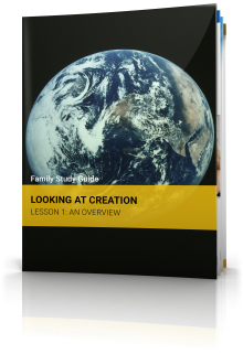 Family Study Guide: Creation: Lesson 1