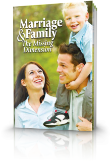 Marriage and Family - The Missing Dimension