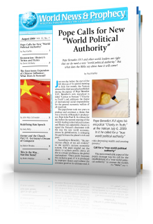 World News and Prophecy August 2009