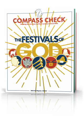 Compass Check Fall 2019 Tilted Cover, God's Festivals
