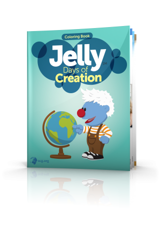 Jelly Days of Creation Coloring Book