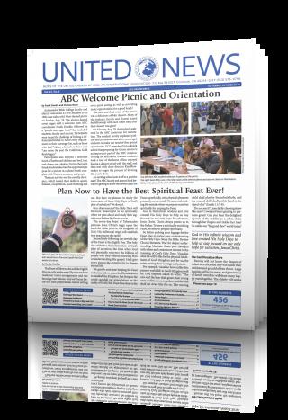 United News September-October 2016 issue.