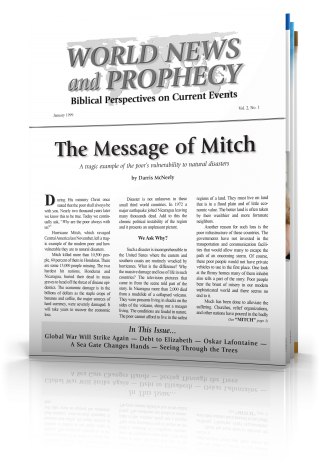 World News and Prophecy January 1999