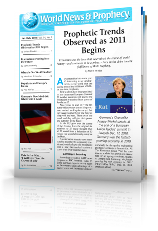 World News and Prophecy January - February 2011