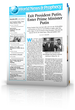 World News and Prophecy November 2007