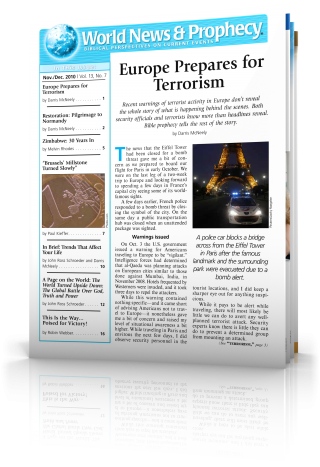 World News and Prophecy November - December 2010