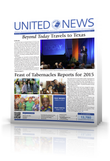 November, December United News Issue.