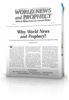 World News and Prophecy August 1998