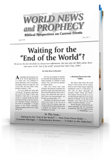 World News and Prophecy August 1999