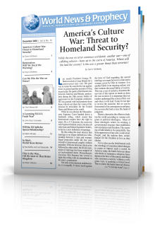World News and Prophecy December 2003