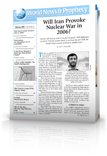 World News and Prophecy February 2006