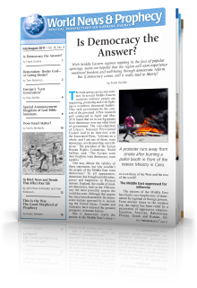 World News and Prophecy July - August 2011