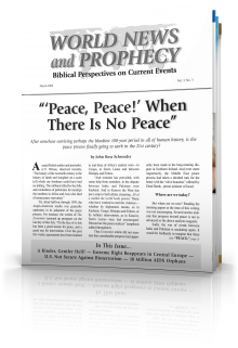 World News and Prophecy March 2000