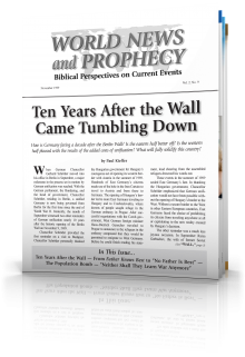 World News and Prophecy November 1999