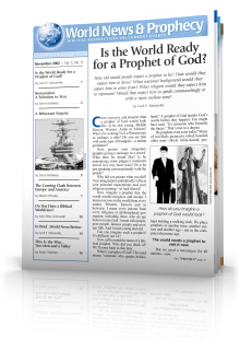 World News and Prophecy November 2002