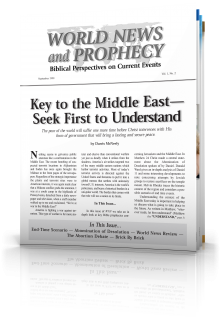 World News and Prophecy September - October 1998