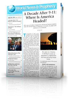 World News and Prophecy September - October 2011