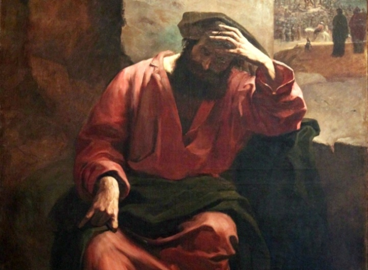An Artists Portrayal Of Judas Iscariot
