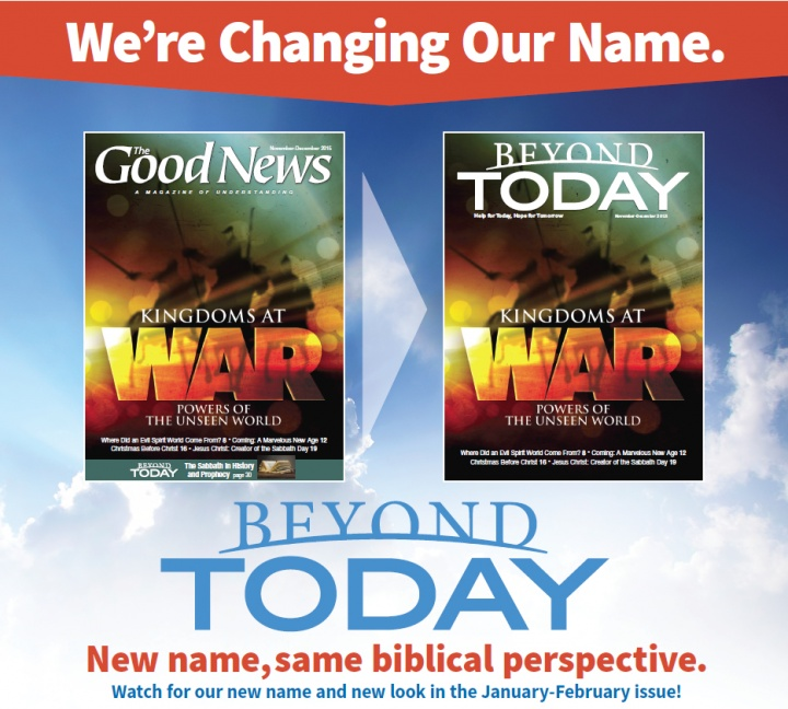 Big News About The Good News | United Church of God