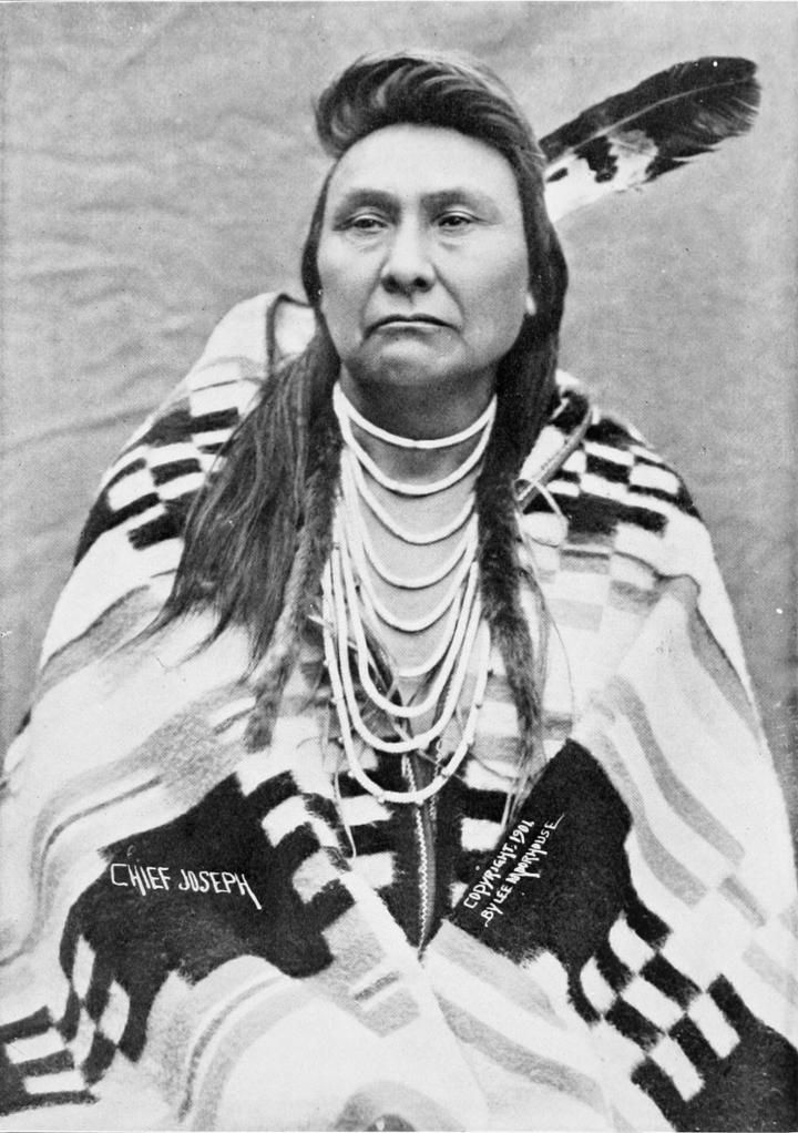 Chief Joseph of the Nez Perces tribe