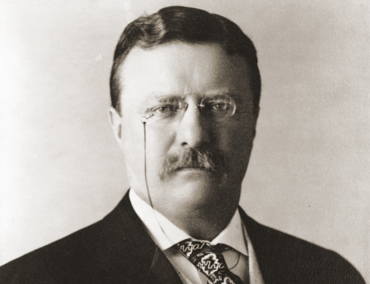 Theodore Roosevelt, the 26th president of the United States.