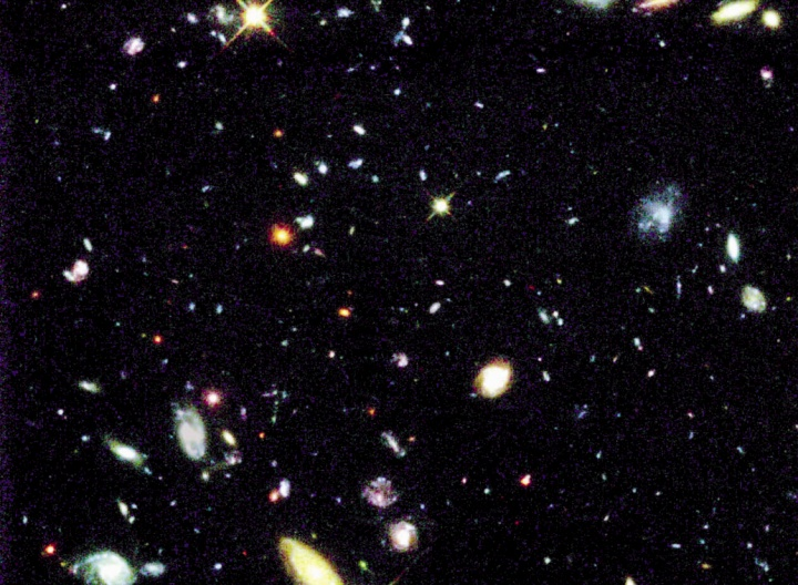 Hubble Space Telescope photo.