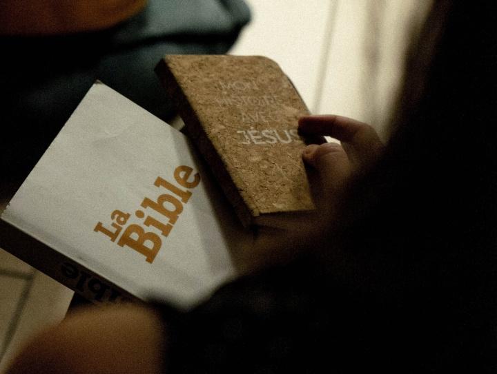 A Bible.
