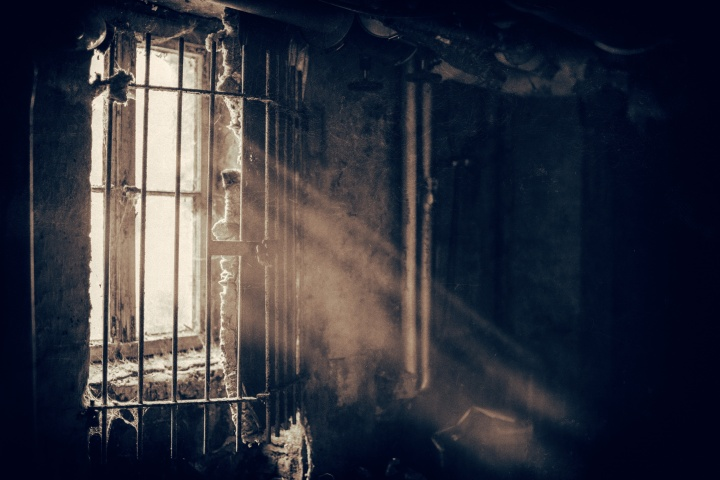 An old prison cell.