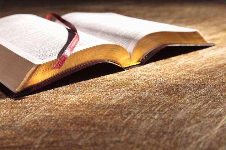 Open Bible.