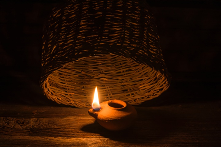 Follow me the spirit led sacrificial life united church for Light a lamp and put it under a basket