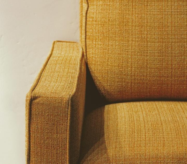 Empty soft chair.