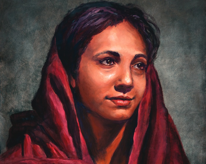 An artist rendition of Mary Magdalene.
