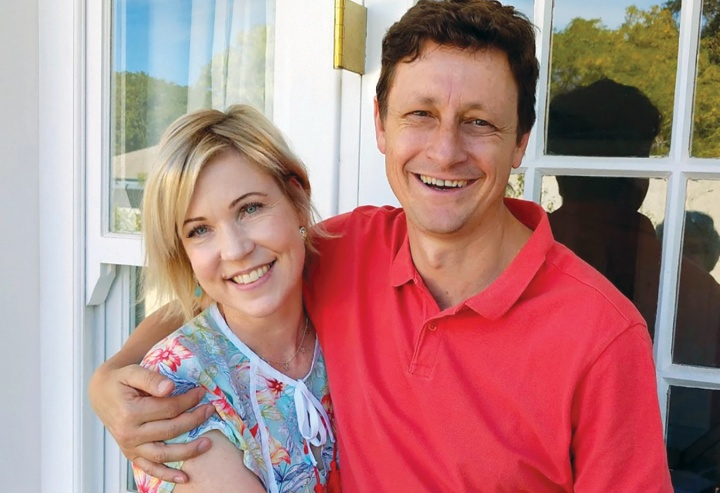 Cathy and her husband Vivien Botha.