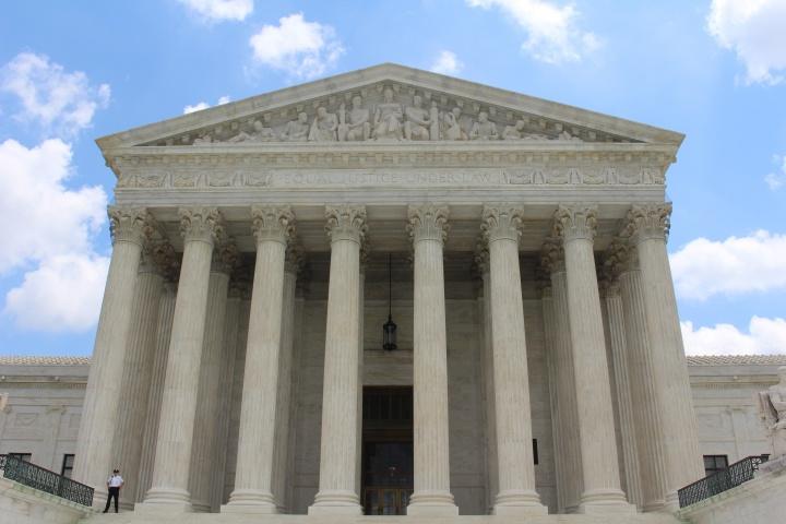 The Supreme Court building, Washington DC