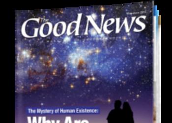 Good News Magazine - May/June 2013 cover