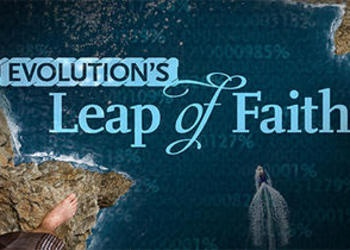 Beyond Today program title graphic - Evolution's Leap of Faith