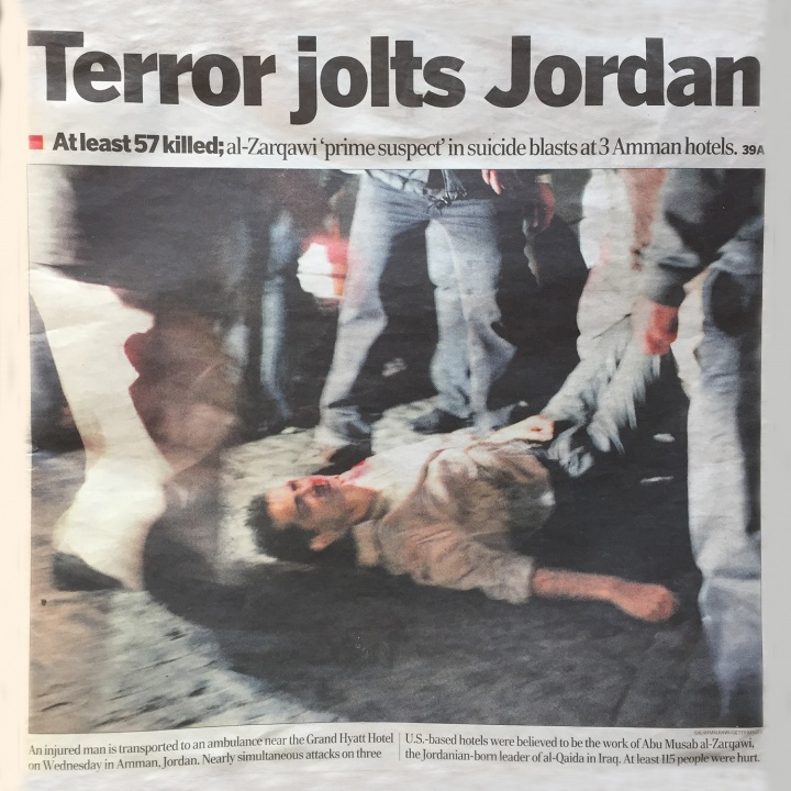 News article photo from The Jordan Times