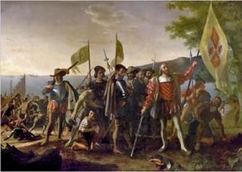 Christopher Columbus and Jesus Christ