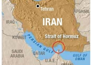 Middle East Map Strait Of Hormuz.Closing The Strait Of Hormuz A Serious Iranian Threat United