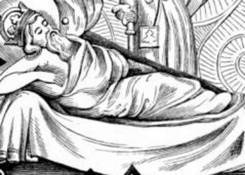 Black and white king laying down - Nebuchadnezzar Not Remember His Own Dream?