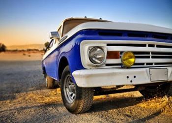 classic pickup truck