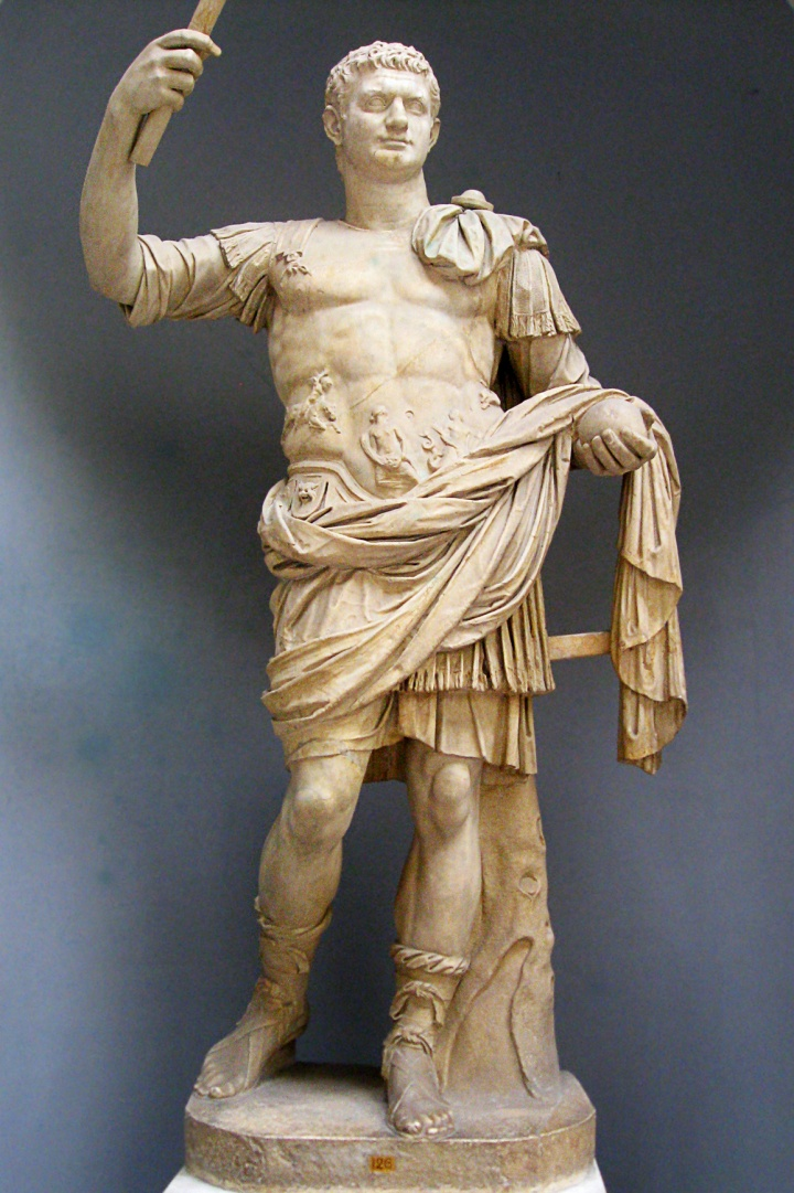 Statue of Roman Emperor Domitian