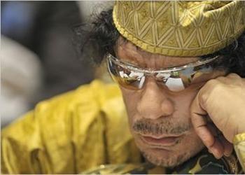 Gaddafi's Violent Past Catching Up in Libya