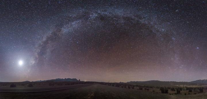 A sky full of stars.