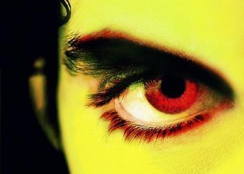 Upclose photo of a man's eye.
