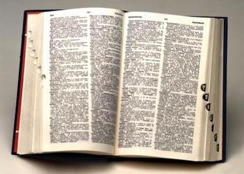 Open research book with tabs - Grammar Confuses the Nature of the Holy Spirit