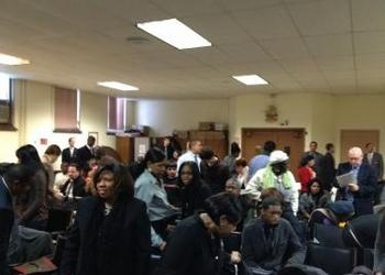 Attendees of the Kingdom of God Bible seminar in New York City.