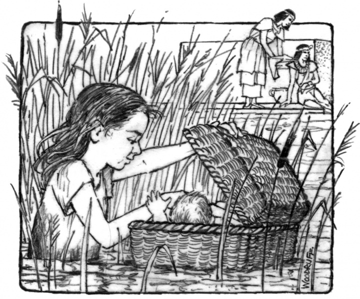 Profiles of faith miriam a lifetime of faith united for Miriam gets leprosy coloring page