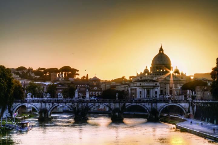 Saint Peter's Basilica, the Vatican.